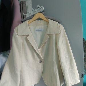 MaxMara vintage blazer size 10 in EUC
